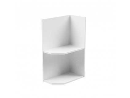 Spodní skříňka, bílá, pravá, AURORA D25PZ