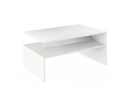 Konferenční stolek, bílý, DAMOLI
