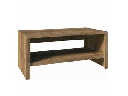 Konferenční stolek ST, dub lefkas tmavý, MONTANA