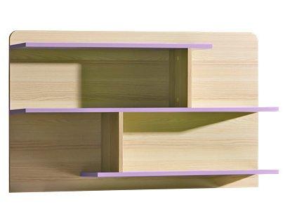 LIMO L8 závěsná police fialová