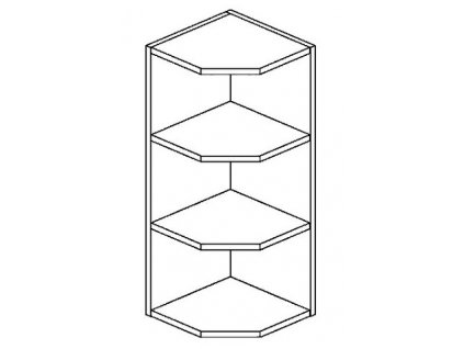 ROG horní otevřený roh PREMIUM hruška
