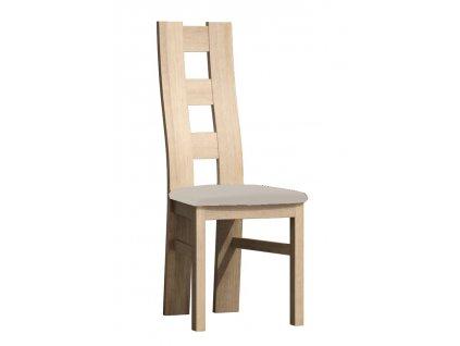 Čalouněná židle TADEÁŠ kraft zlatý/Victoria 20