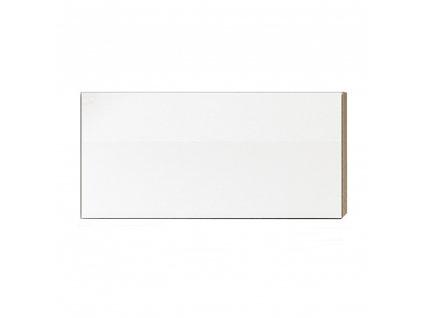Skříňka horní G 60, vysoký bílý lesk/dub sonoma, LINE