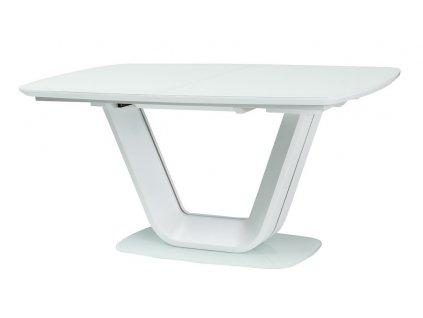 Jídelní stůl rozkládací160x90 ARMANI bílý