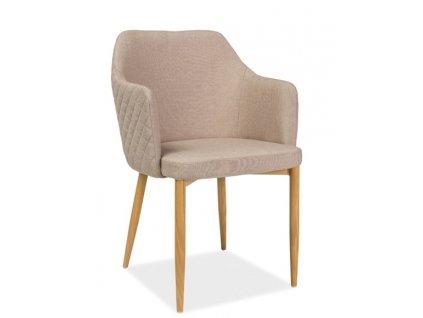 Jídelní čalouněná židle ASTOR béžová