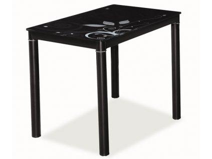 Jídelní stůl DAMAR 80x60 černý