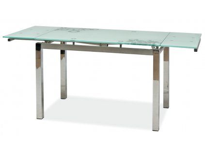 Jídelní stůl GD-017 rozkládací bílý