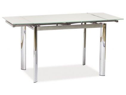 Jídelní stůl GD-019 rozkládací bílý