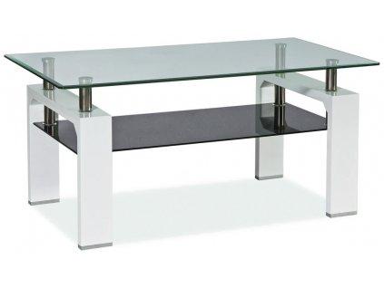 Konferenční stolek LISA II - bílý lak