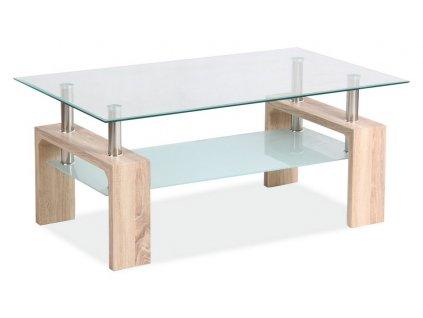 Konferenční stolek LISA BASIC II - dub sonoma