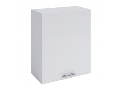 Horní skříňka, bílá, levá, FABIANA W - 60
