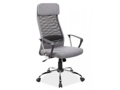 Kancelářské křeslo Q-345 šedá
