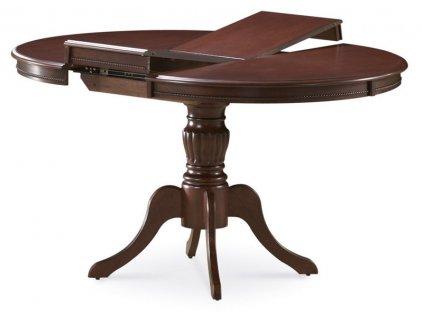 Jídelní stůl OLIVIA rozkládací ořech tmavý