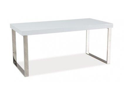 Konferenční stolek ROSA bílá lesk