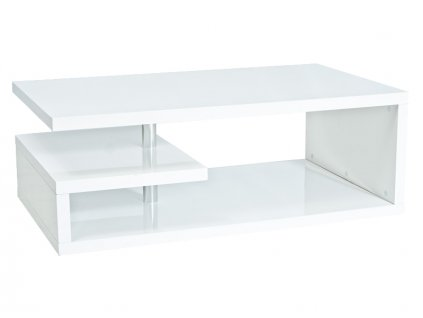 Konferenční stolek TIERRA 120 bílý