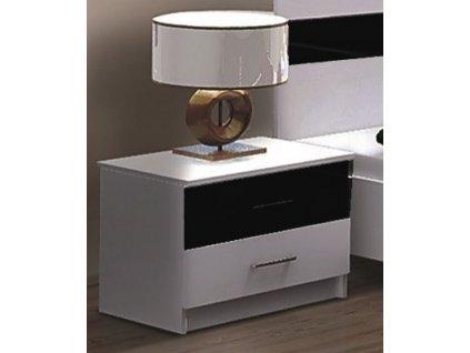 Noční stolek CLEMENTE černý