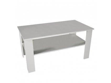 Konferenční stolek, bílá, GAUDI
