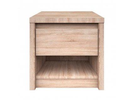 Noční stolek 1S, dub sonoma, NORTY TYP 13