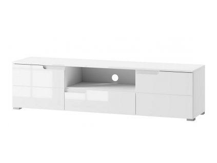 Televizní stolek 2-dveřový SELENE 9 bílá lesk