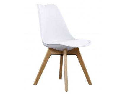 Jídelní židle CROSS II bílá