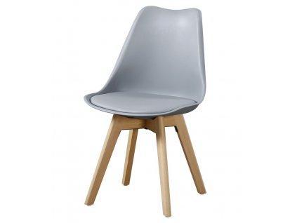 Jídelní židle CROSS II šedá