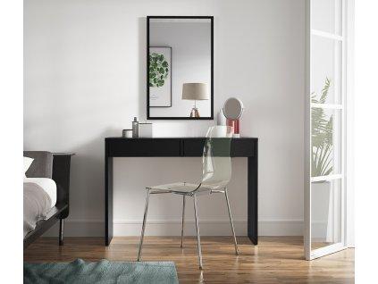 Toaletní stolek ASTRAL černá