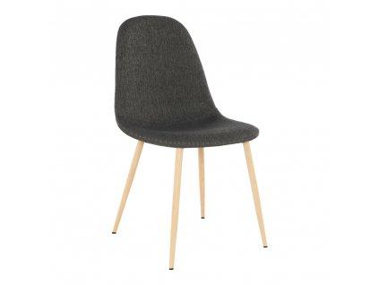 Židle, tmavohnědá/buk, LEGA