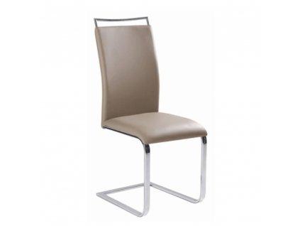 Jídelní židle, světle hnědá, BARNA NEW