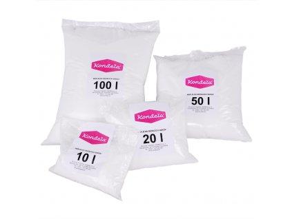 Náplň do sedacích vaků, EPS polystyrénové kuličky, balení 20 l
