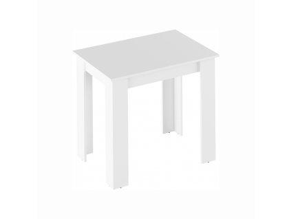 Jídelní stůl, bílá, TARINIO