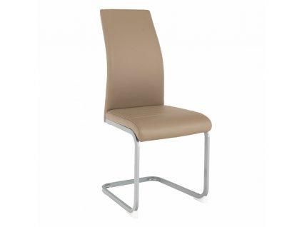 Jídelní židle, šedohnědá TAUPE/ šedá, NOBATA