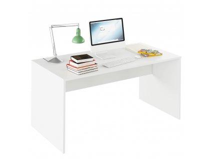 Psací stůl, bílá, RIOMA TYP 16