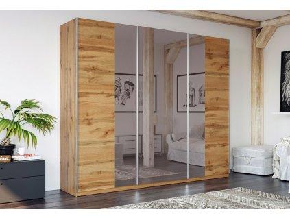 Šatní skříň WATERLOO 250 dub wotan