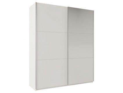 Šatní skříň RICHMOND 200 bílá/bílá