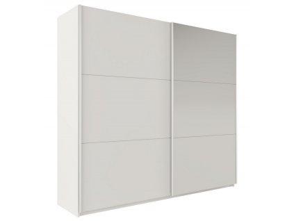 Šatní skříň VALERIANO 225 bílá/bílá