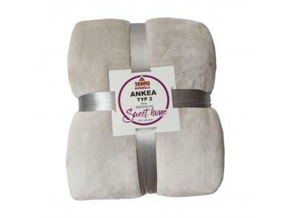 Oboustranná deka, bílá, 200x220, ANKEA TYP 2