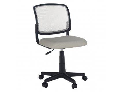 Otočná židle, šedá/černá, RAMIZA