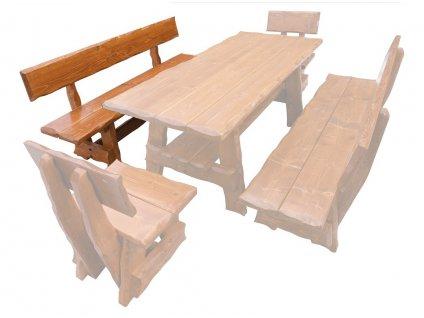 OM-266 zahradní lavice výběr barev