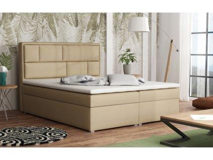 Postel s matrací s ÚP WENDY BOX 140x200 výběr látek
