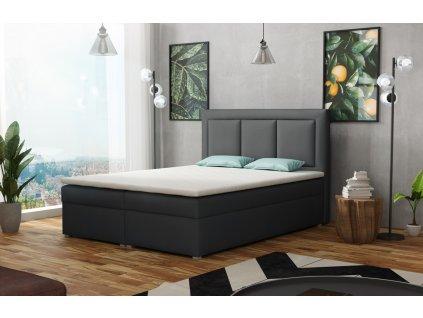 Postel s matrací s ÚP MIRABEL BOX 160x200 výběr látek