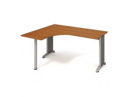 Flex - Stůl ergo pravý 160*120 cm