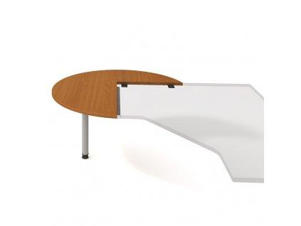 Flex - Stůl jednací levý napříč 120 cm