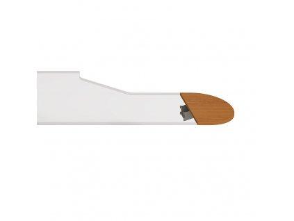 Flex - Stůl zakončovací oblouk 60 cm