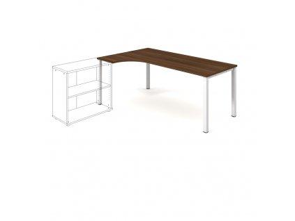 Uni - Stůl ergo pravý 180*120 cm