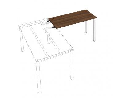 Uni - Stůl pracovní délky 120 cm (hloubka 60 cm) k řetězení