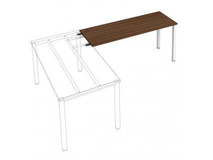 Uni - Stůl pracovní délky 160 cm (hloubka 60 cm) k řetězení