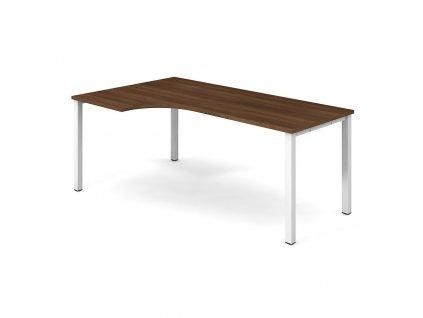 Uni - Stůl ergo 180x120 cm, pravý