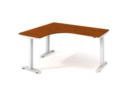 Motion - Ergo elektr. stav. stůl 160x120 cm, pravý, stand. ovlad.