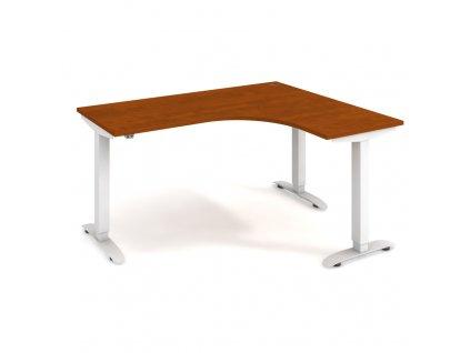 Motion - Ergo elektr. stav. stůl 160x120 cm, levý, stand. ovlad.