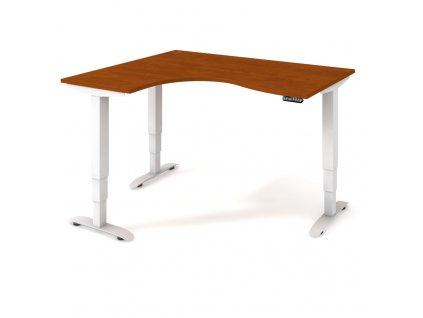 Motion - Ergo elektr. stav. stůl 160x120 cm, pravý, paměť. ovlad.